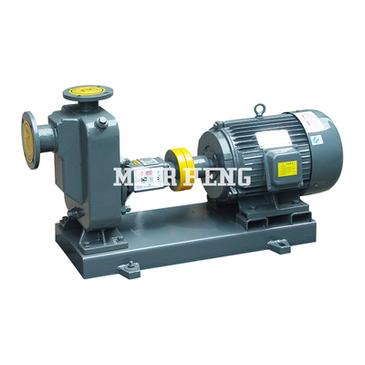 ZW non-clog self-priming sewage pump